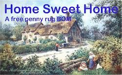 A free penny rug BOM