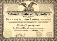 Hypnotherapy Certification