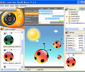 The screen shot of AiO Flash Mixer