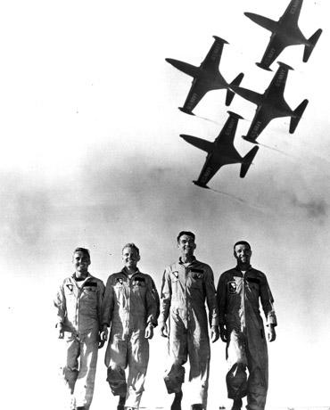 Blue Angels historical photo, 1953