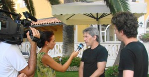 Interview for Calabrian television