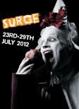 surge 2012 conflux circus street art glasgow