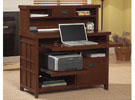 Mission Pasadena Internet Credenza with Hutch, OFG-CH0031