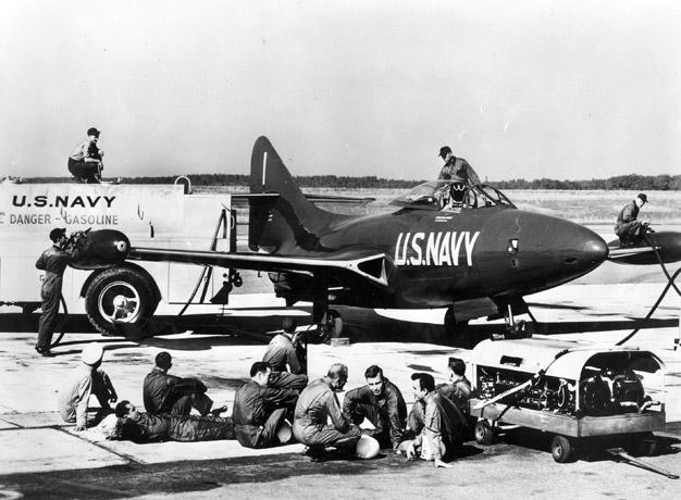 Blue Angels historical photo, 1949
