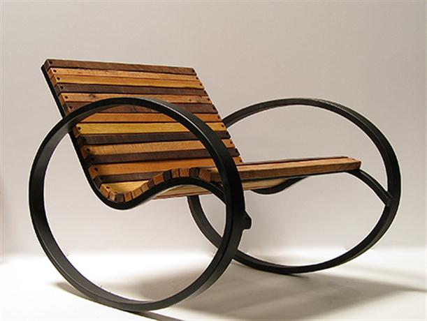 Chair Rocking Bed with Modern and Unique Design by Shiner