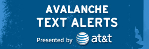 Avalanche Text Alerts