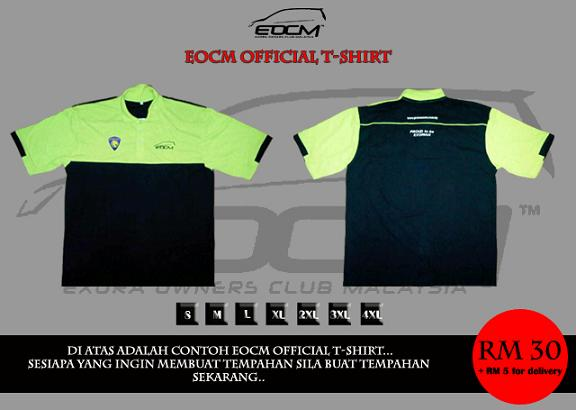 EOCM Official Collar Tshirt - EOCM Official Merchandise