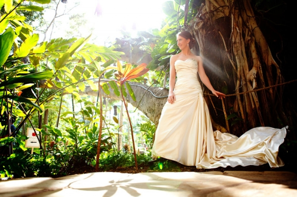 tropical destination wedding
