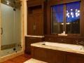Bathtub at Modern Luxury Ranch Style Home Design