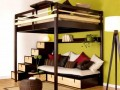 Bunk bed Small Size Bedroom with Maximize Furniture Design
