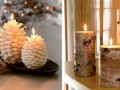 Cool and Stylish Christmas Candle Lights Decorating Ideas artistic