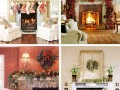 Beautiful and Creative Mantel Christmas Design Decorating Ideas elegant