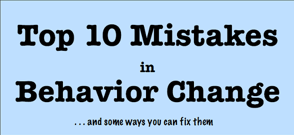 Trying to effect behavior change? Stanford Lab says stop doing these 10 things
