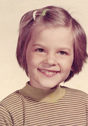 Me, age 4ish