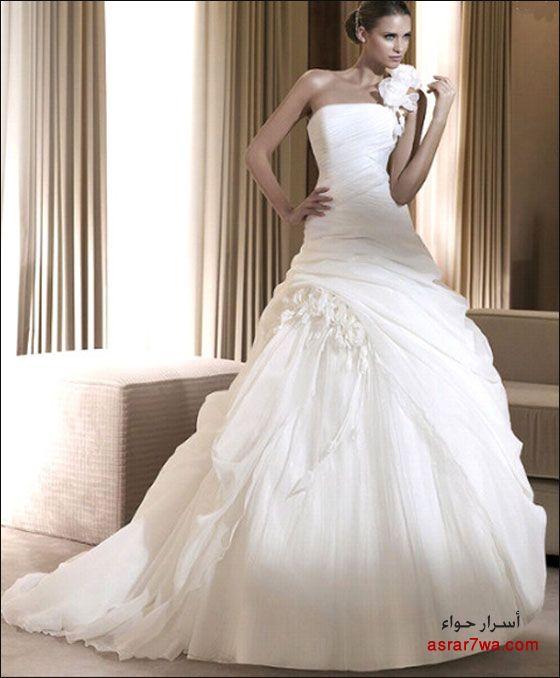 اجمل فساتين الزفاف لسنة 2011!!