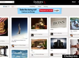 Dudepins: Another Pinterest Clone Wants More Testosterone