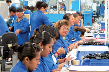 A Plantronics plant in Tijuana. The U.S. company is investing $30 million to boost production in Mexico