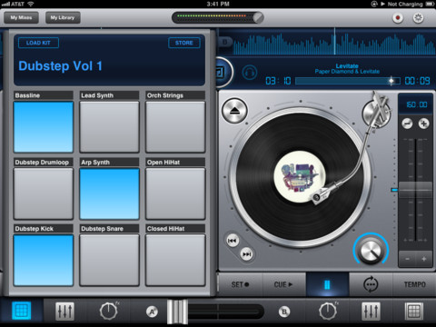 Mixr DJ for iPad