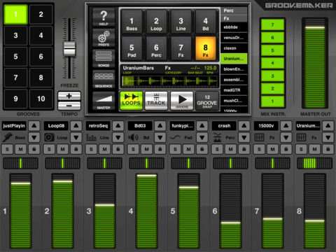 Groovemaker House - DJ App for iPad 2