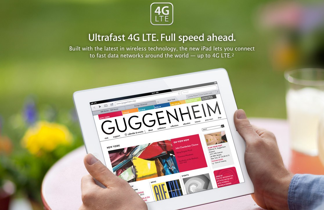 ipad4g UK regulator says iPad advertising misleading, wants Apple to drop 4G claims