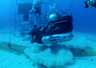 Training for an asteroid landing at the Neemo undersea base (pictures)