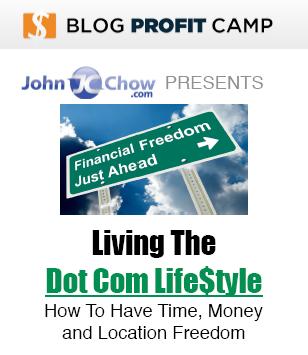 John Chow's Living the Dot-Com Lifestyle Cover