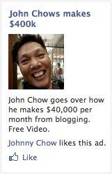 Yüz kitap gülümseyen John Chow bir resmi