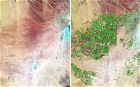 Satellite images show how human expansion has changed the face of the earth