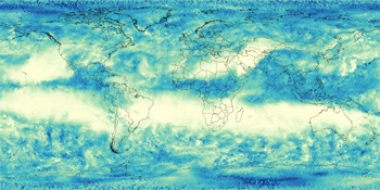 Global patterns of atmospheric humidity from NASA AIRS