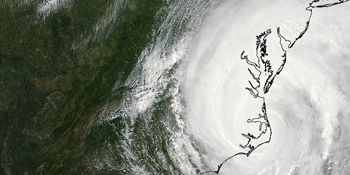 Global Images of Hurricane Irene generated via VIIRs