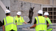 Paterno statue moved to undisclosed location