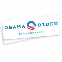 Obama-Biden Bumper Sticker Combo