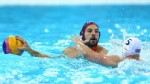 PHOTO: Peter Hudnut of the United States competes during the Men's Water Polo Preliminary Round match between Great Britain and the United States at the Water Polo Arena on August 2, 2012 in London, England.