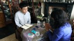 PHOTO: Shing Tat Chung, 25, designer, artist and fund manager, visiting a fortune teller in the photo above, launched Superstitious Fund, a one-year experiment that makes trades based on superstitions.