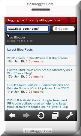 Create a Mobile Version of your WordPress Blog with MobilePress