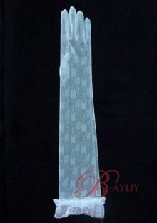 Gants de Mariage Moyens Blanc WPD06033