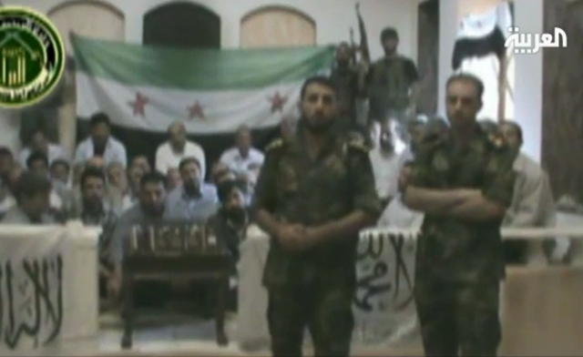 """Syrian rebels claimed earlier this month to have """"captured 48 of the Shabiha (militiamen) of Iran who were on a reconnaissance mission in Damascus."""" (Al Arabiya)"""