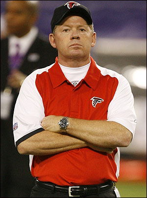 Bobby Petrino's NFL head-coaching career lasted 13 games with the Falcons.