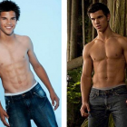 taylor lautner before and after weight gain