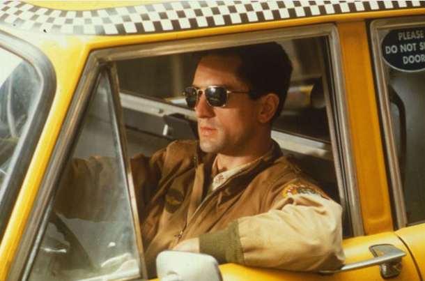 A scene from 'Taxi Driver'. Courtesy Sony Pictures Home Video.