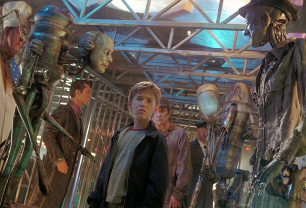 A scene from 'A.I.'. Courtesy Paramount Home Video.