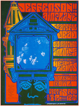 Jefferson Airplane [Concert Poster] (1967)