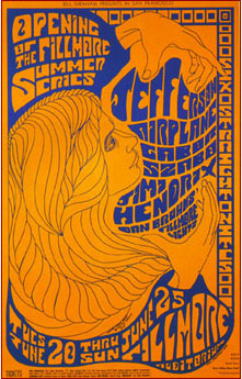Jefferson Airplane {Concert Poster] (1967)