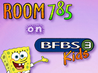 Room  785 on BFBS 3 Kids