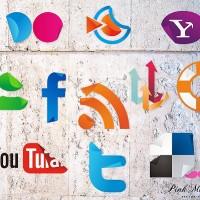 New Free Social Icons Sticker Set