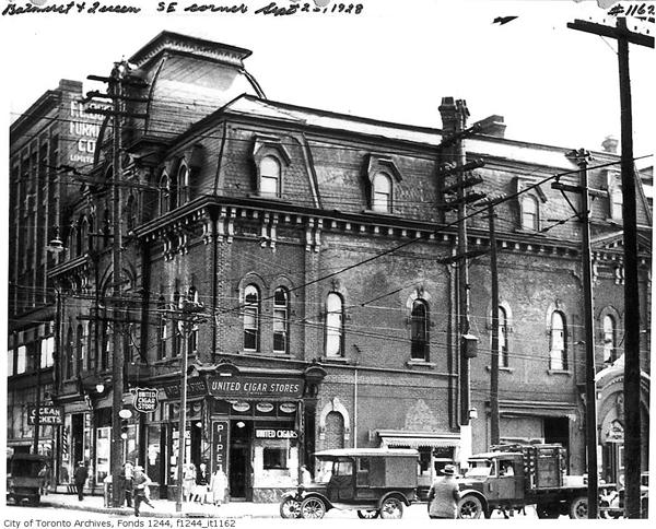Queen and Bathurst - the Original building