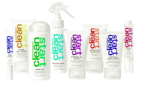 csgroup Beauty News:  Dermalogica Introduces Teen Line Called Clean Start...