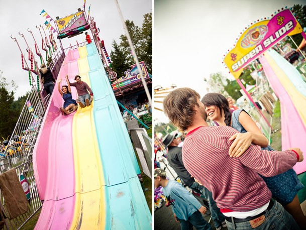 Styled Engagement Shoot At Deer Lake BC - victoria fair carnival engagement session BC 18