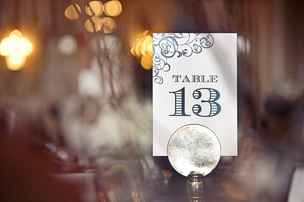 Modern Chic Black White Green Inspiration Vancouver - The Perfect 3 - table numbers white pewter silver classic