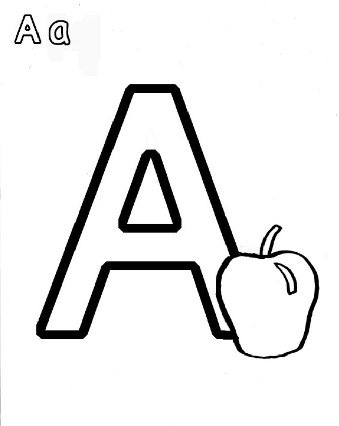 apple coloring pages for kids printable 5